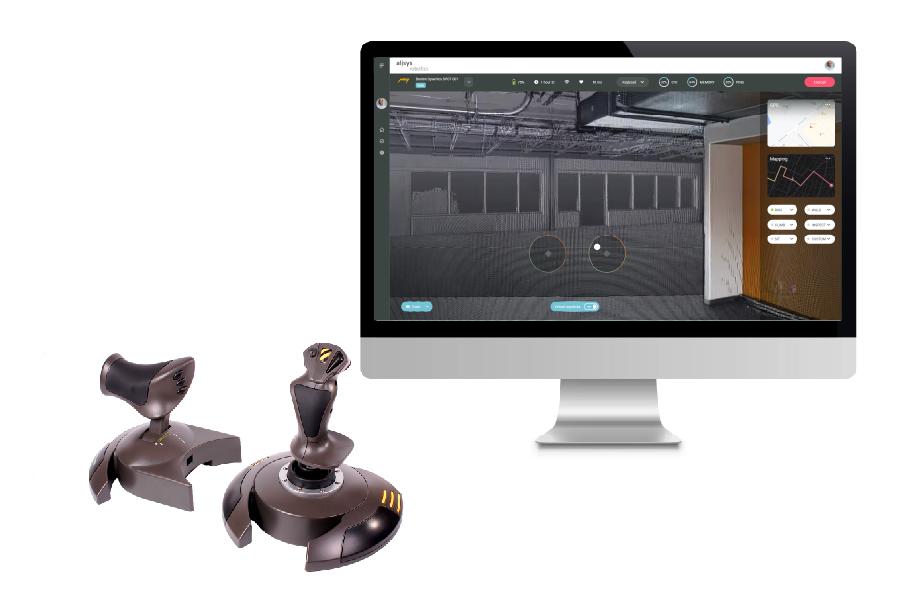 Alisys diseña una plataforma cloud para visualizar, teleoperar y monitorizar flotas de robots heterogéneos