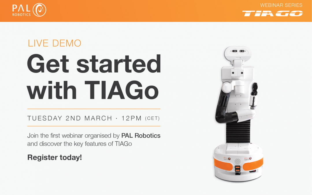 Webinar con PAL Robotics, 2 de marzo 2021