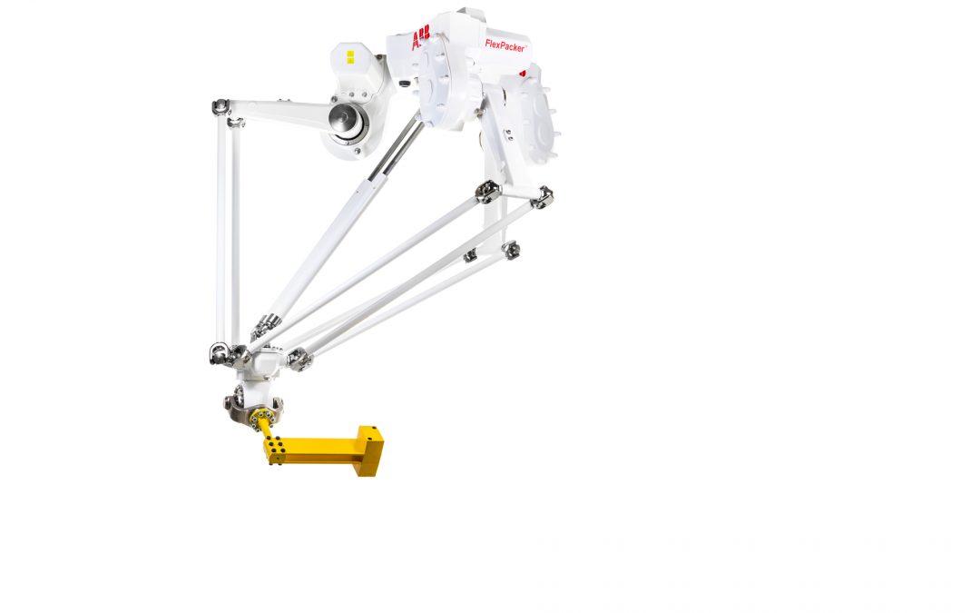 IRB 390 FlexPacker™. Ofreciendo nuevas posibilidades para la preparación y el embalaje ultrarrápidos de gran carga