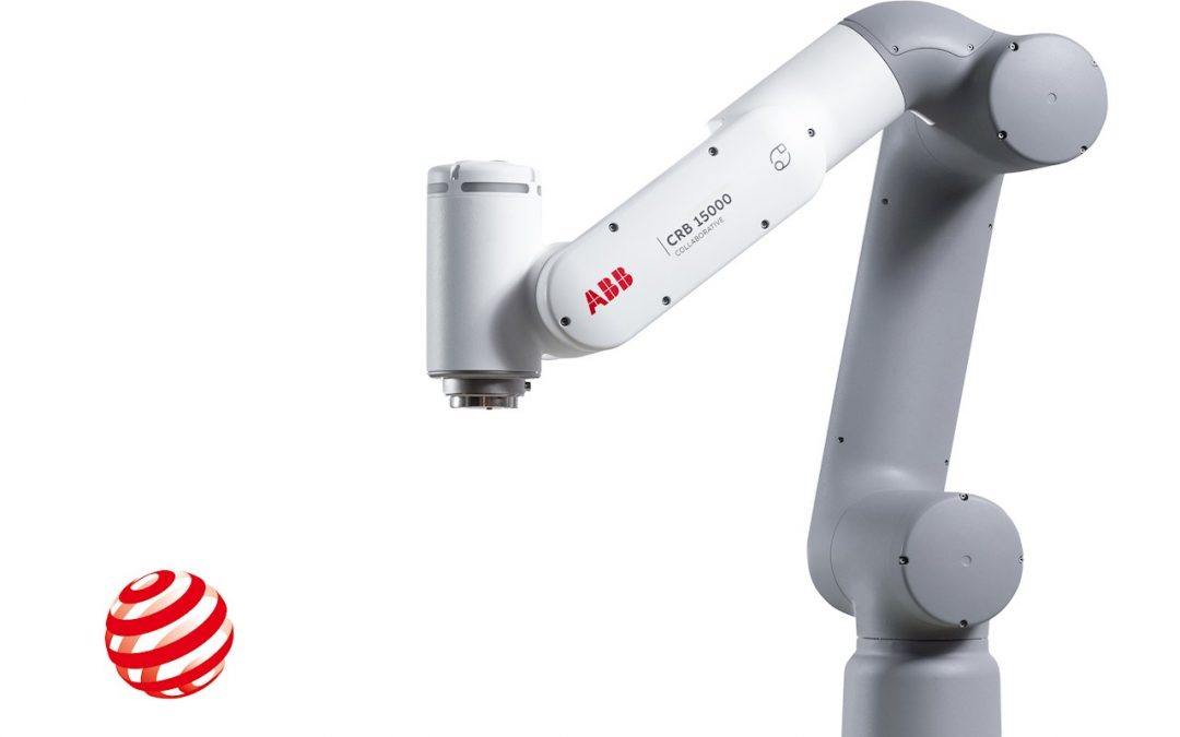 El nuevo cobot GoFa™ de ABB gana el prestigioso premio Best of the Best Red Dot