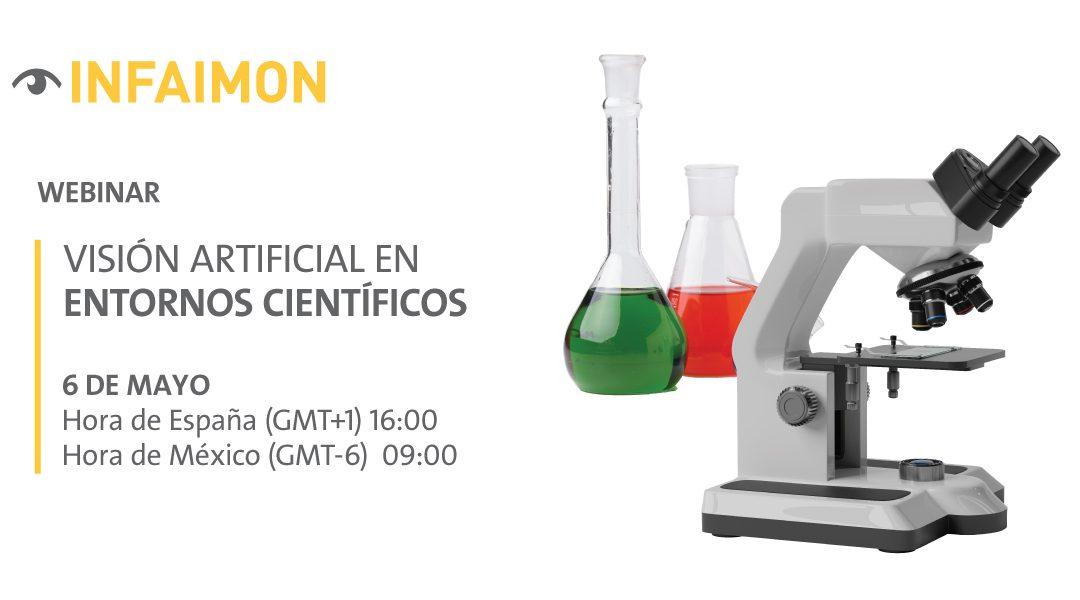 Nuevo webinar INFAIMON: Visión Artificial en entornos científicos