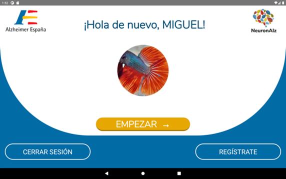NeuronAlz: Aplicación de tecnología móvil para el tratamiento y prevención de enfermedades neurodegenerativas y ejercicio de capacidades psicocognitivas