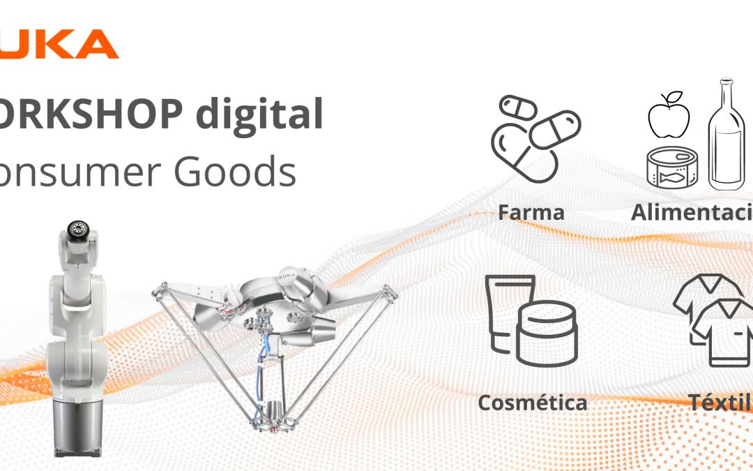 """Kuka WORKSHOP para la Industria de Consumer Goods: """"La automatización al alcance de todos"""""""