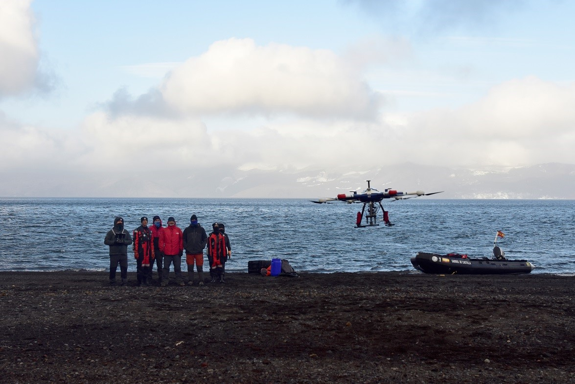 La campaña antártica 2020/2021 apuesta por Dronetools para completar su equipo