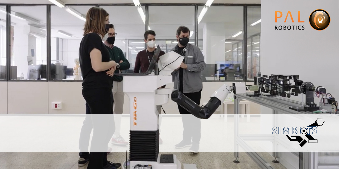 SIMBIOTS project for industry 4.0 enables robots to work better with humans
