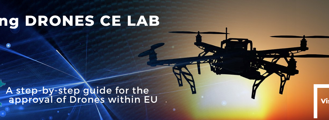 DRONES CE LAB, the new guide for drone manufacturers