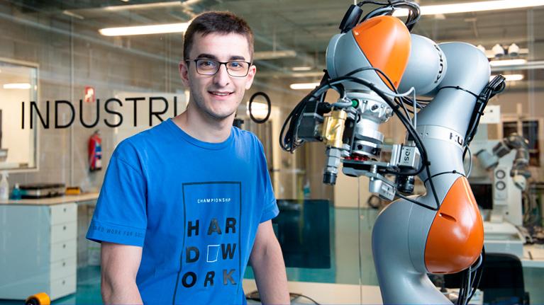 Premio a la excelencia en tecnologías aplicadas a la robótica colaborativa