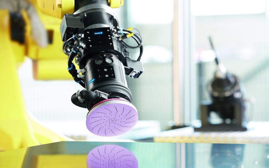 La cooperación entre SCHUNK y 3M abre nuevas posibilidades para el rectificado automatizado