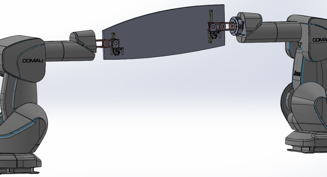 Solución flexible, reconfigurable y colaborativa para operaciones de aplicación de sellante y de soldadura