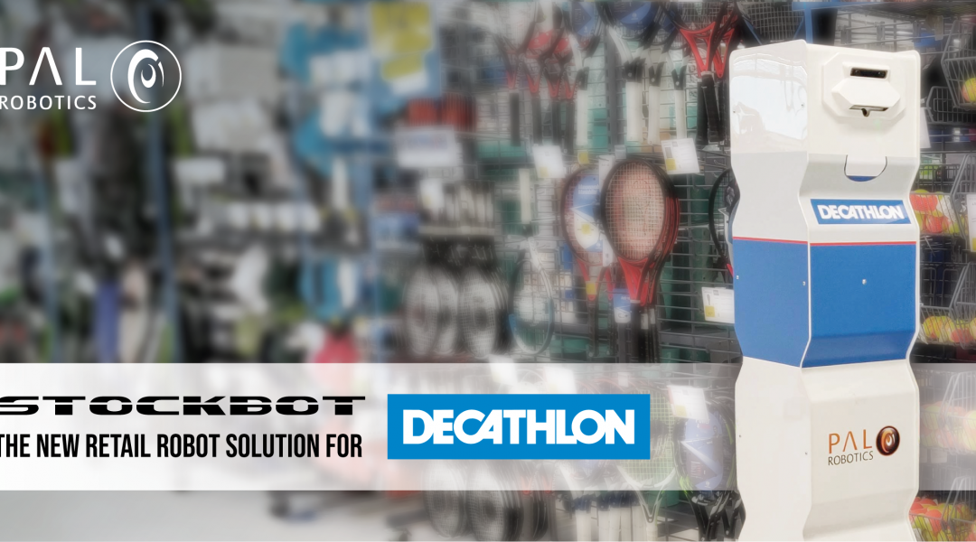 Decathlon chooses PAL Robotics' StockBot to deploy across stores worldwide