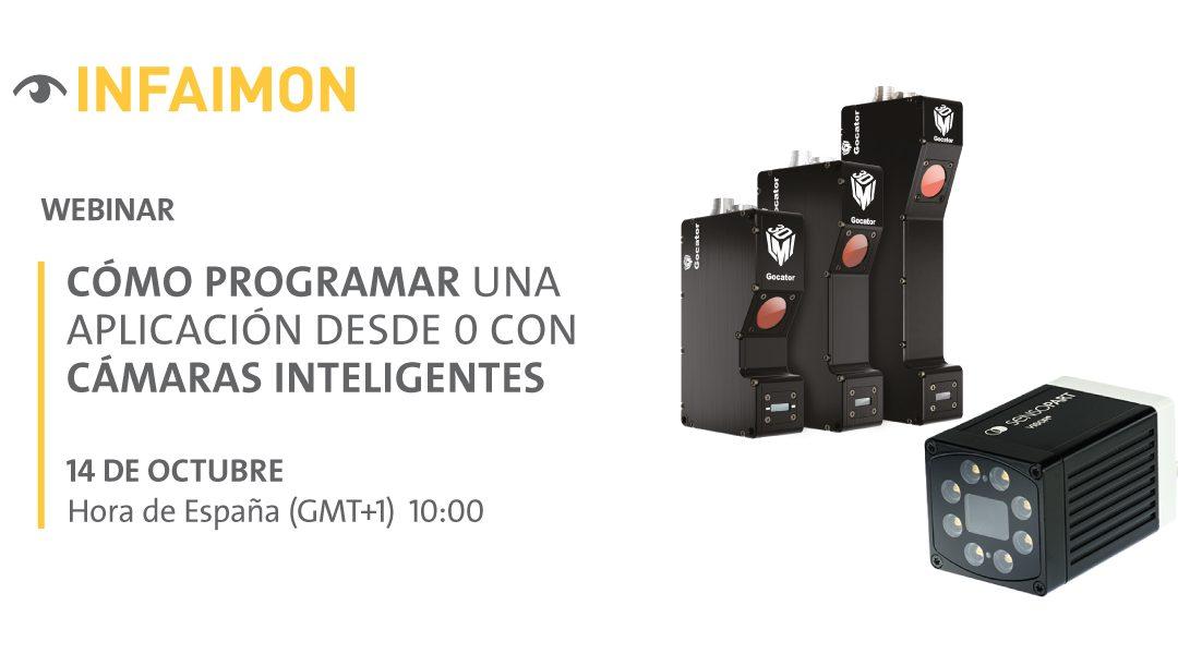 Nuevo webinar de INFAIMON: cómo programar una aplicación desde 0 con cámaras inteligentes