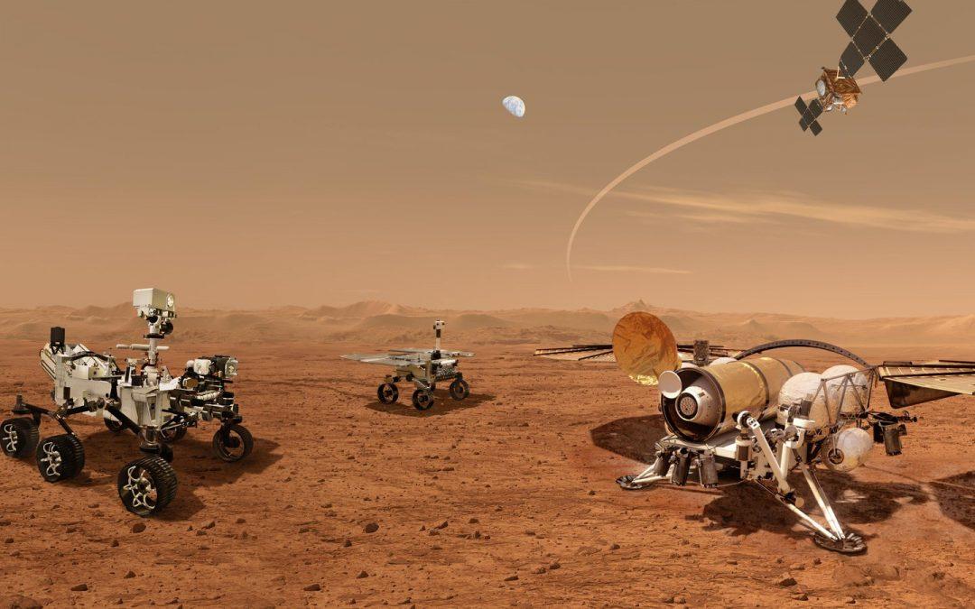 GMV aporta varios sistemas al brazo del vehículo robótico de superficie del programa Mars Sample Return