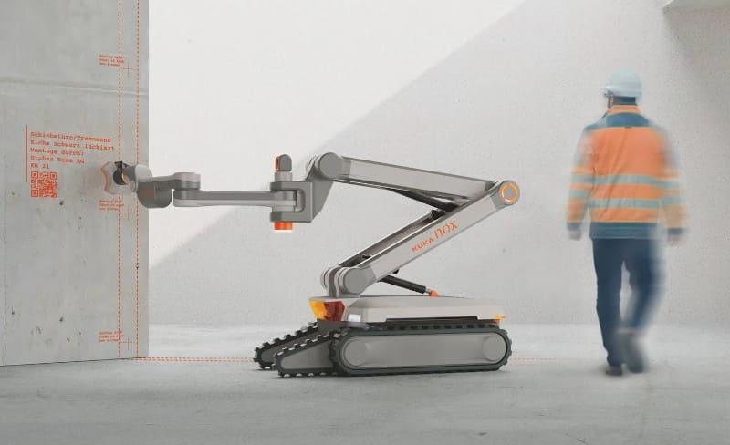 El robot de construcción «KUKA NOX» gana el premio Red Dot Design Concept Award 2021
